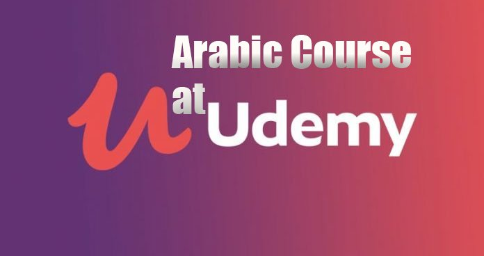Arabic Language Pre-recorded Course at Udemy