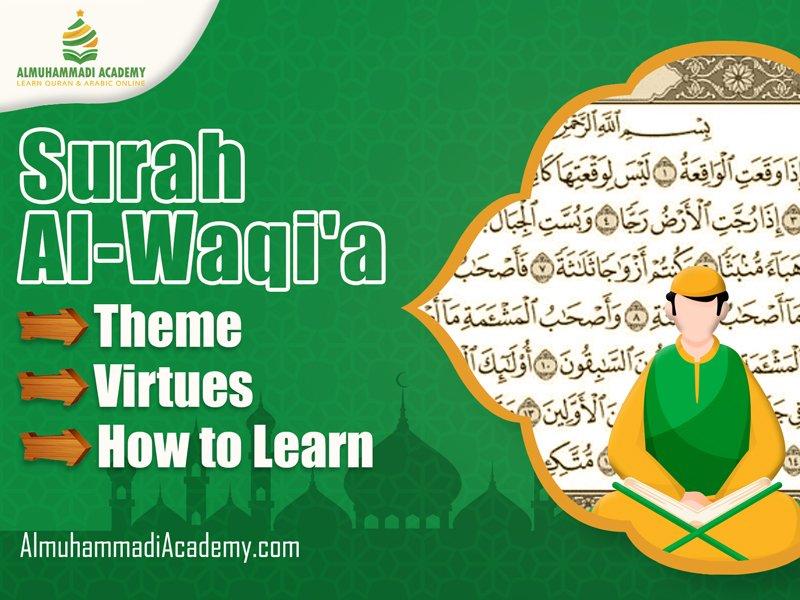 Surah Al Waqiah Theme, Virtues, and How to Learn - Almuhammadi Academy